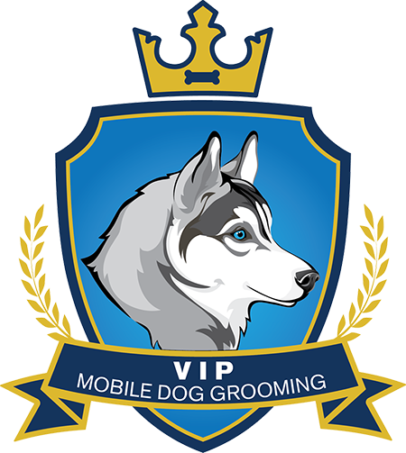 Logo Vip Mobile Dog Grooming